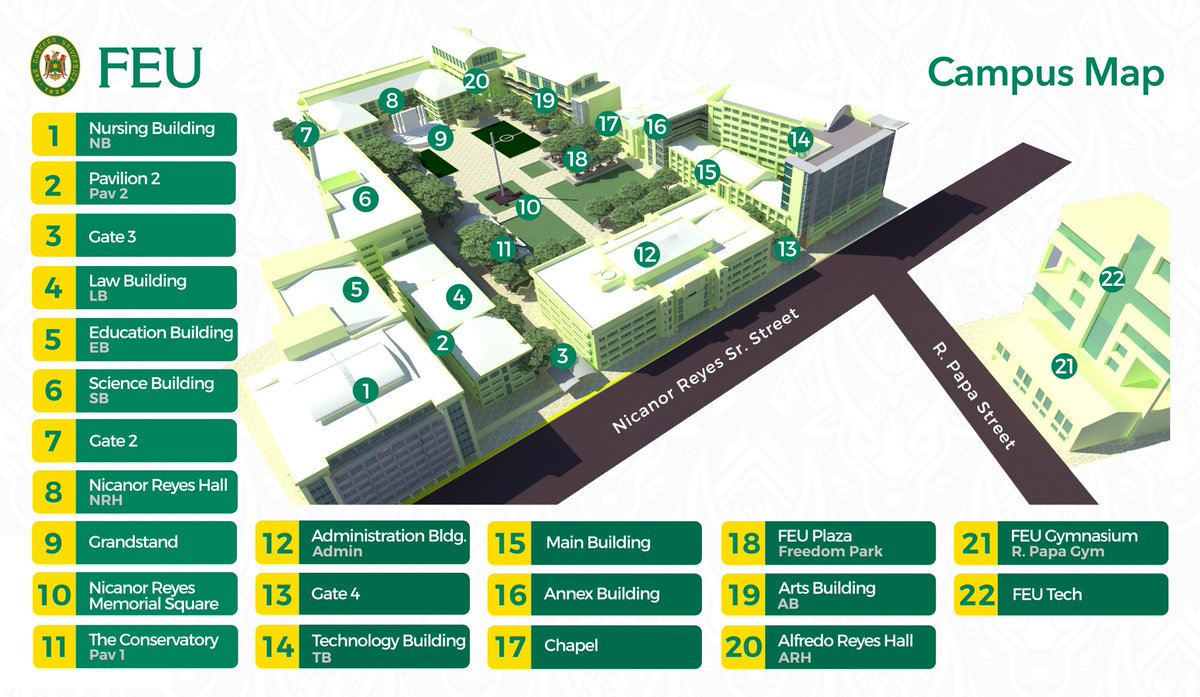 Feu Campus Map Philippine International Studies Organization Phiso