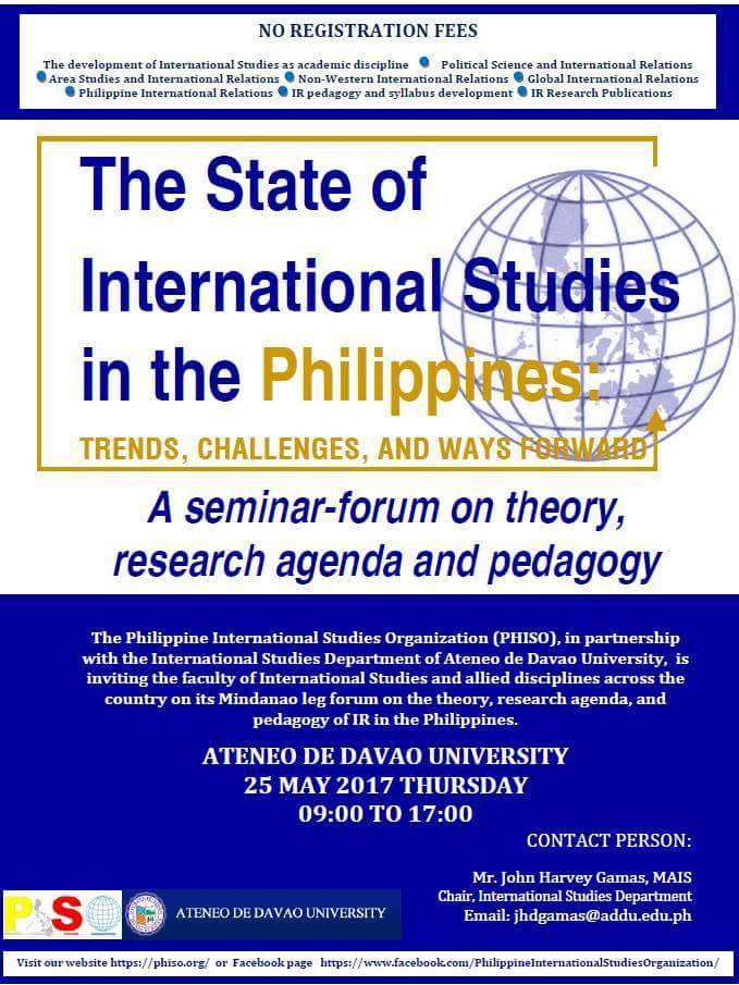 state of research in the philippines